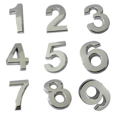 New House Number 0-9 Letters Numbers Letter Mail Box 304 ABS Plastic 2017