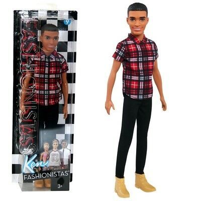 Barbie - Ken Puppe Fashionistas 9 - Plaid on Point