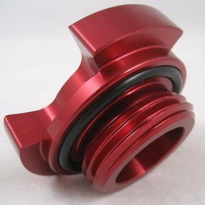 Red Aluminium Alloy Billet Oil Filler Cap for Nissan Navara D22 Pickup Truck New