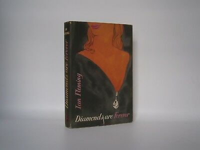 Ian Fleming - Diamonds Are Forever - UK 1st edition in d/w - Jonathan Cape -1956