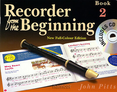 Recorder from the Beginning Book 2/CD Learn to Play & Read Music Tutor Method