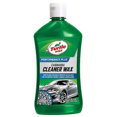 Turtle Wax T-6A Carnauba Cleaner Liquid Wax - 16 oz. 16 Ounces