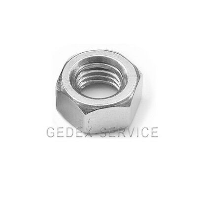 100 Hex Nuts DIN 934 M² STAINLESS STEEL A2 V2A M 2