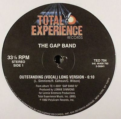 "GAP BAND, The - Outstanding - Vinyl (12"")"