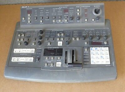 Sony Dfs-500 Controller / Board Switcher / Controller  Model Dfs-500 W/ Cards