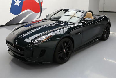 2016 Jaguar F-Type Base Convertible 2-Door 2016 JAGUAR F-TYPE CONVERTIBLE S/C AUTO NAV 20'S 1K MI #K32601 Texas Direct Auto