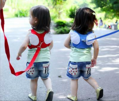 Baby Infant Toddler Walking Wing Belt Safety Harness Strap Walking Assistant LC