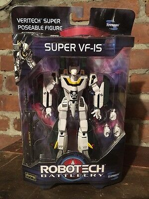 ROBOTECH BATTLE CRY Super VF-IS Toynami New Old Stock