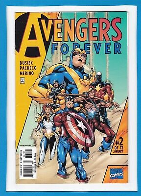 Avengers: Forever #2_Jan 1999_Very Fine/near Mint_Kang The Conqueror_Hawkeye!
