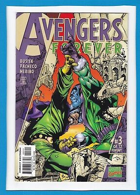 Avengers: Forever #3_Feb 1999_Very Fine/near Mint_Kang The Conqueror_Giant-Man!