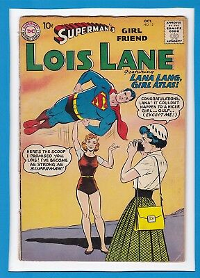 Superman's Girlfriend Lois Lane #12_October 1959_Very Good_Silver Age Dc!