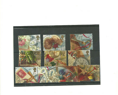 GB set of 10 1992    used  stamps' Memories'
