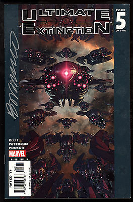 Ultimate Extinction (2006) #5 First Printing Signed by Brandon Peterson Art VF-