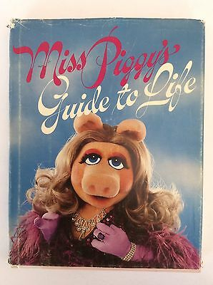 Lot VTG Miss Piggy HB Books Muppets Manhattan In the Kitchen & Guide to Life 88