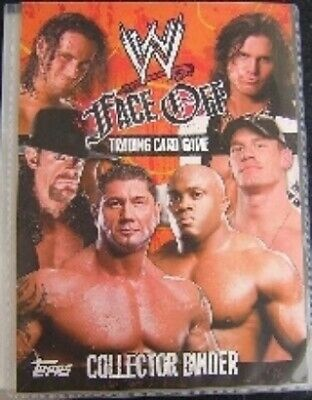 Wwe Face Off Cards 001 To 130  Base / Basic Cards       Choose By Topps