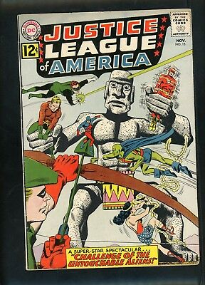 Justice League of America 15 From 1962 Fine or 6.0 Condition Batman Wonder Woman