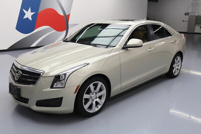 2014 Cadillac ATS Base Sedan 4-Door 2014 CADILLAC ATS 2.5L SUNROOF HTD SEATS REAR CAM 25K #176812 Texas Direct Auto