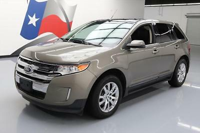 2012 Ford Edge Limited Sport Utility 4-Door 2012 FORD EDGE LTD ECOBOOST PANO ROOF NAV LEATHER 58K #A40889 Texas Direct Auto