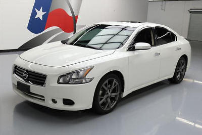 2013 Nissan Maxima  2013 NISSAN MAXIMA 3.5 SV SPORT SUNROOF REAR CAM 53K MI #804137 Texas Direct