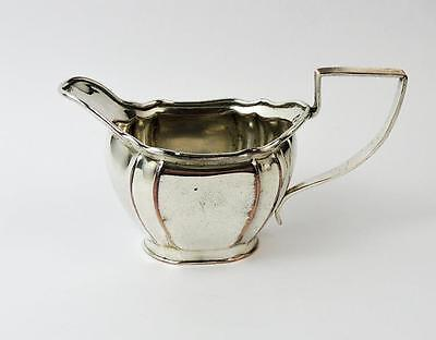 OLD SHEFFIELD PLATE CREAM JUG c1800