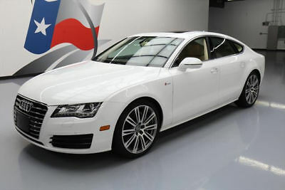 2014 Audi A7  2014 AUDI A7 QUATTRO PREM PLUS AWD S/C SUNROOF NAV 39K #070219 Texas Direct Auto