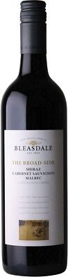 Bleasdale `The Broad-Side` Shiraz Cabernet Malbec 2014 (12 x 750mL), SA.