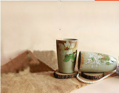 Simple Style Handmade Pottery Creative Decor Cup Craft Gift Home Decoration Set