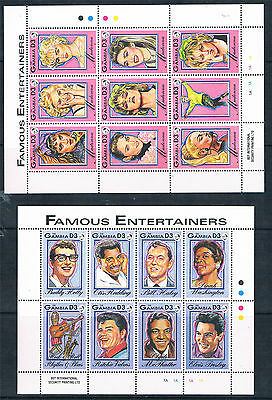 Gambia 1993 Musical Entertainers SG 1559/93 MNH