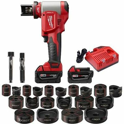 "New Milwaukee Tool 2676-23 M18 Forgelogic 18 Volt 1/2"" To 4"" Knockout Tool Kit"