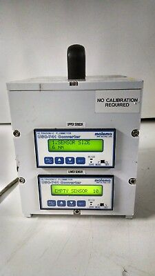 LOT OF 2 malema USC-741 Ultrasonic Flowmeter with  ONE POWER ADAPTER