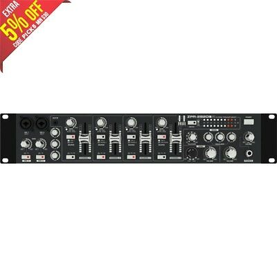 Hill Audio Zpr2820 2 Zone Mixer Preamp 4 Dual Source Stereo Inputs