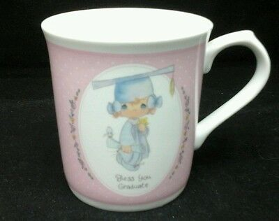 Precious Moments Bless You Graduate Coffee Cup Mug Vintage 1991 Samuel J Butcher