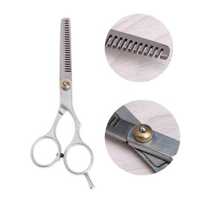 """5.5"""" Pet Dog Cat Stainless Steel Cutting Grooming Hair Thinning Scissors Shears"""