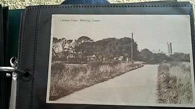 Nice real photo postcard of Cakeham Tower Wittering Sussex. 1930