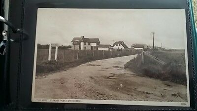 Nice real photo postcard of The West Strand West Wittering Sussex.