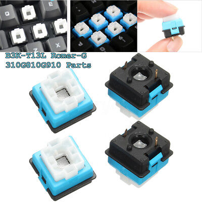 4pcs Romer-G Replacement Mechanical Switch for For Logitech G310 G810 G910 RGB