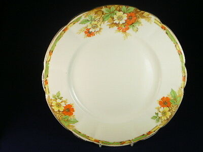 Tams Ware Autumn Flowers Dinner Plate