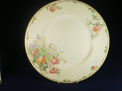 Windsor Castle & Flowers Dinner Plate