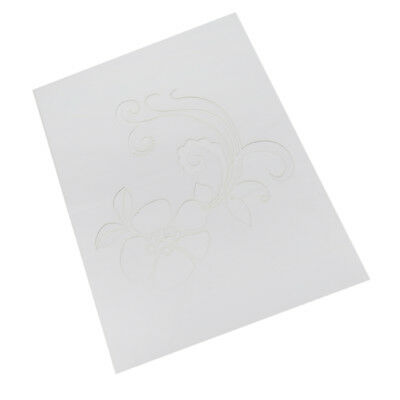 Stencil Pattern Wall Painting Craft Card Ideal Home Decor DIY Template #1