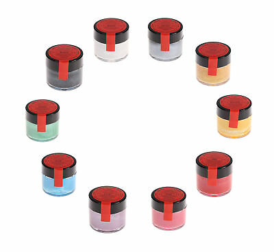5 x Sugarflair Edible Giltter Paint Food Colour For Cake Sugarcraft Decorating