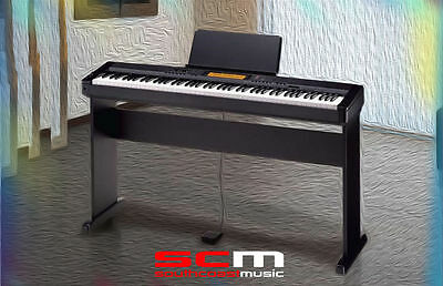 Casio Cdp230 Electronic Digital Piano With Cs44P Legs Stand & Plug'n Play Pac
