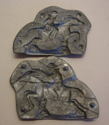 Early 20th century chocolate mold of a cowboy German made
