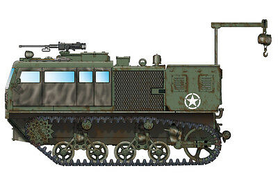 HOBBYBOSS® 82921 US Army M4 High Speed Tractor (155mm/8-in./240mm) in 1:72