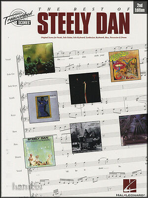 The Best of Steely Dan Transcribed Scores Music Book Guitar Bass Piano Sax Drums