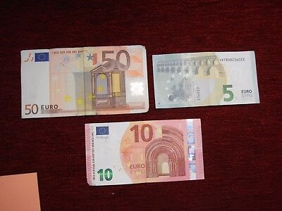65 Euros - Current Currency - U.s. Sale Only