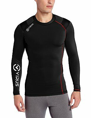 VIRUS Mens Stay Warm X-form Posture Control Long Sleeve Compression Top 2XL