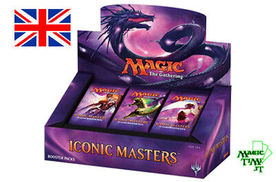 BOX 24 Buste Magic ICONIC MASTERS 2017 ENG Nuovo Mtg Magic Sealed Booster IMA