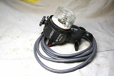 Norman LH500 Head W/NIB model bulb clear Flashtube 14'Cord perfect working order