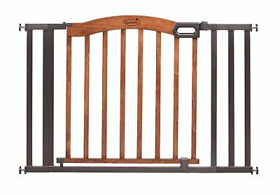 Summer Infant Stylish & Secure Wood & Metal Expansion Gate (27070)