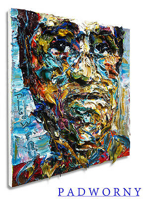Oil Paint Art Thick Paintings Picture Kunst Outsider Large Pop Weird Unique FOLK
